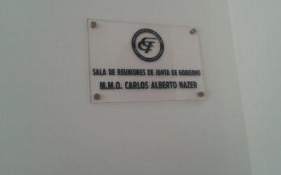 Homenaje al M.M.O. Carlos Alberto Nazer