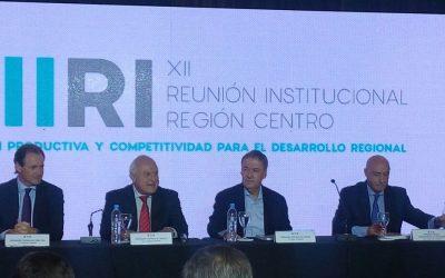 XII Reunión Institucional Región Centro – Integración productiva y competitividad para el desarrollo regional.