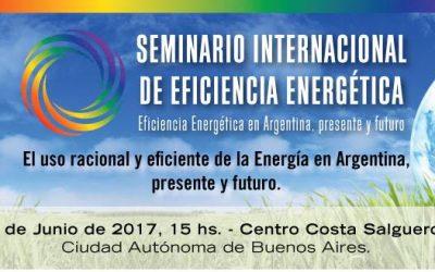 Seminario internacional de eficiencia energética