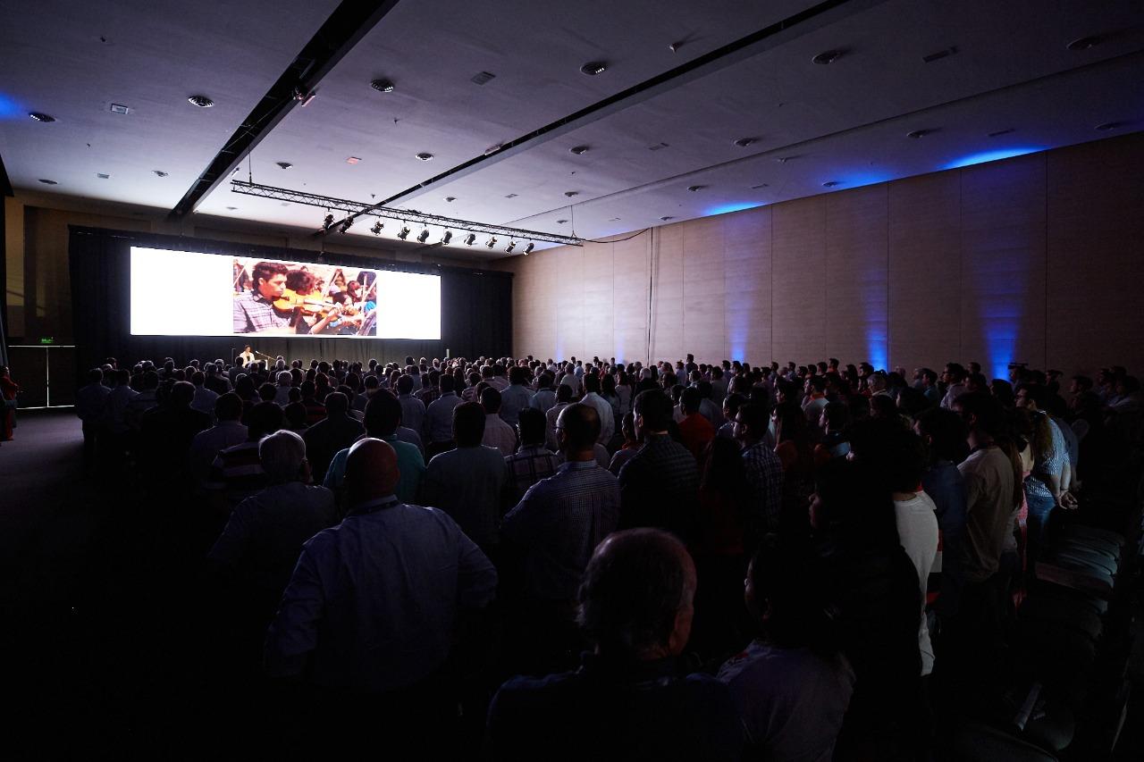 sala apertura tercer congreso de aridos