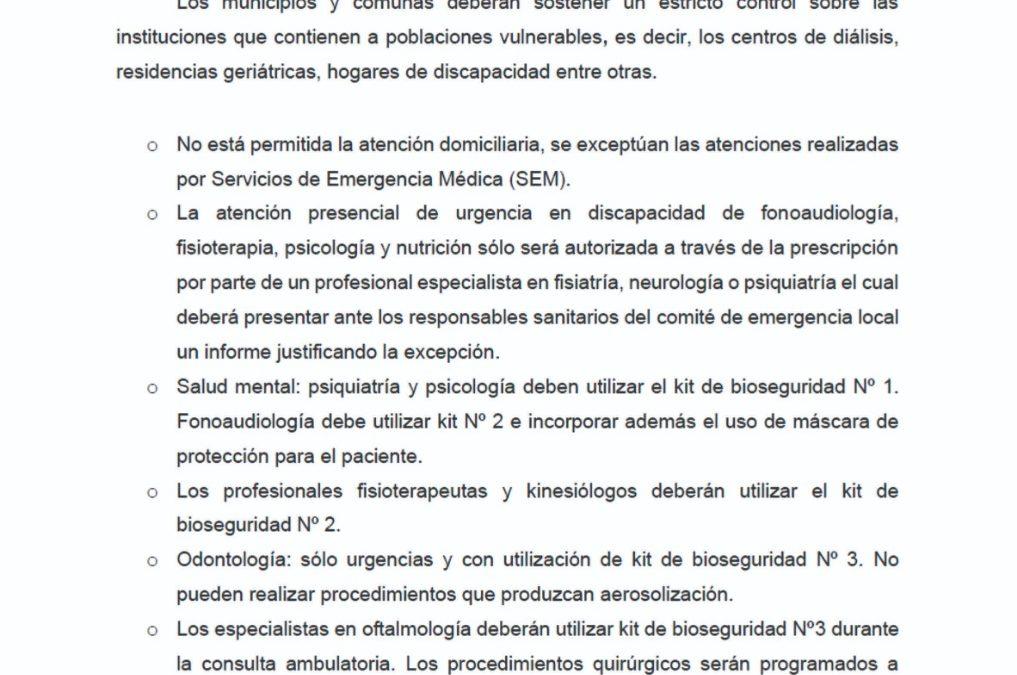 PROTOCOLO PARA LA FLEXIBILIZACION PROGRESIVA
