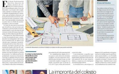 El Colegio en la Voz del interior, las últimas noticias institucionales: el R.O.D. y la educación técnica